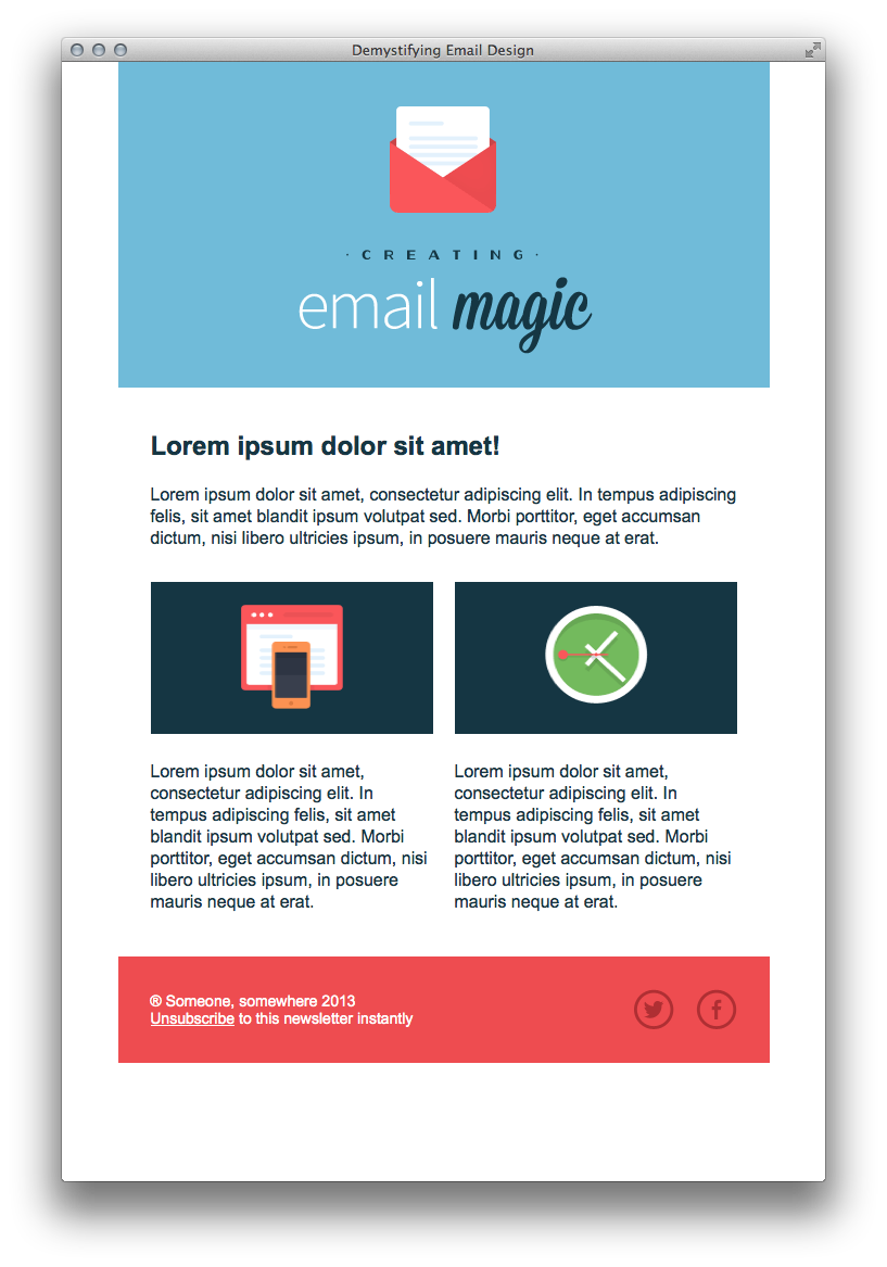 Email Marketing – Web Design by Jake
